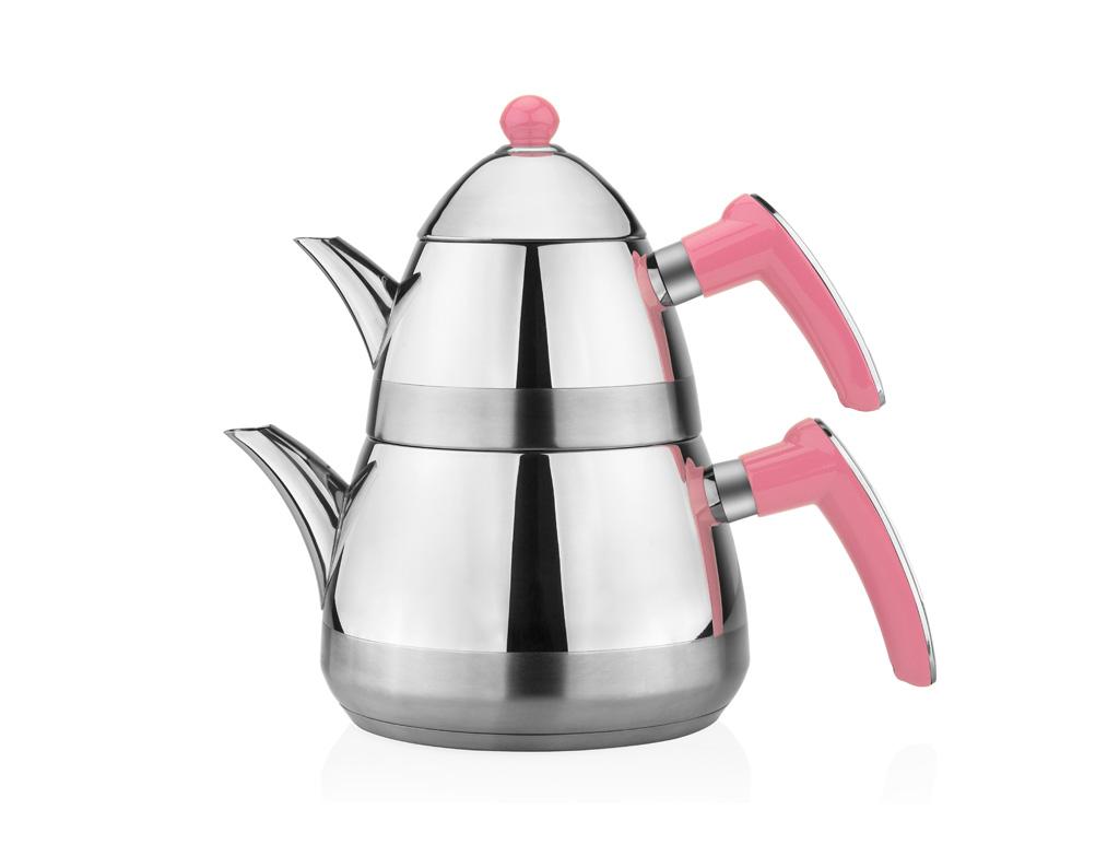 Taç Casablanca Çaydanlık Takımı - Pembe